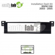 BMW 3 SERIES (E46) '98-'05 (S) AL-BM 007 Car Stereo Installation Dash Kit