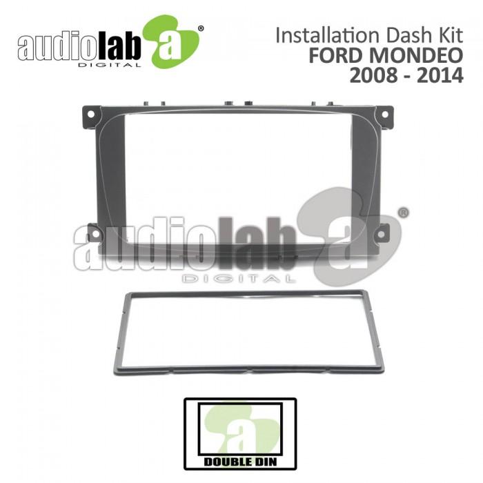 FORD FOCUS / MONDEO 08'-12'(C)  Silver AL-FR 007 Car Stereo Installation Dash Kit