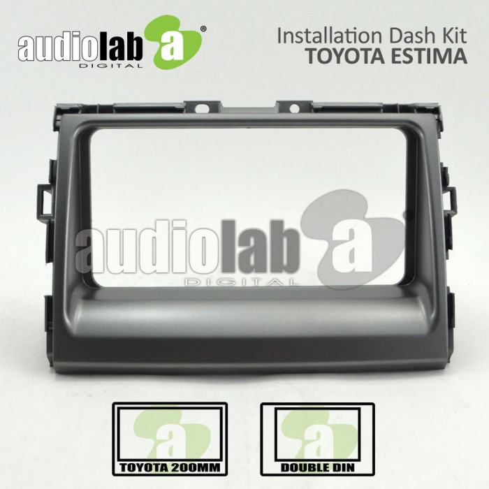 TOYOTA ESTIMA-T (D) -AL-TO 042 (SILVER) Car Stereo Installation Dash Kit