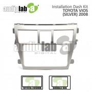 TOYOTA VIOS '08 -(SILVER) AL-TO 100 Car Stereo Installation Dash Kit