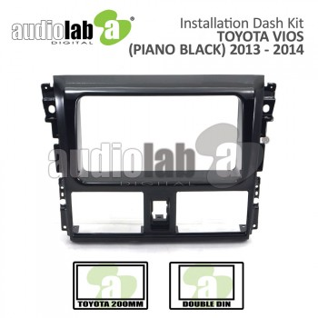 TOYOTA VIOS '13-'16 PIANO BLACK (C) AL-TO 075 Car Stereo Installation Dash Kit
