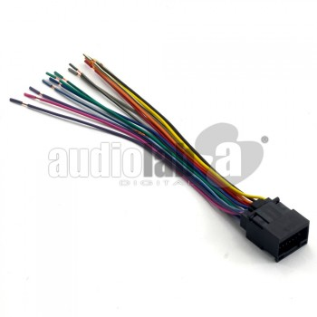 Chery Car Stereo Wiring Harness Adapter (Female)