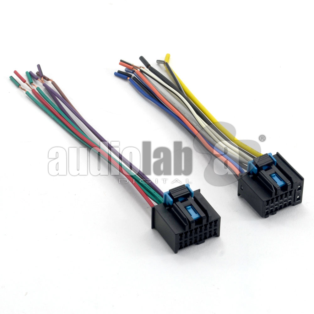 chevrolet captiva car stereo wiring harness adapter female rh autolab com my car radio wire harness car radio wire harness